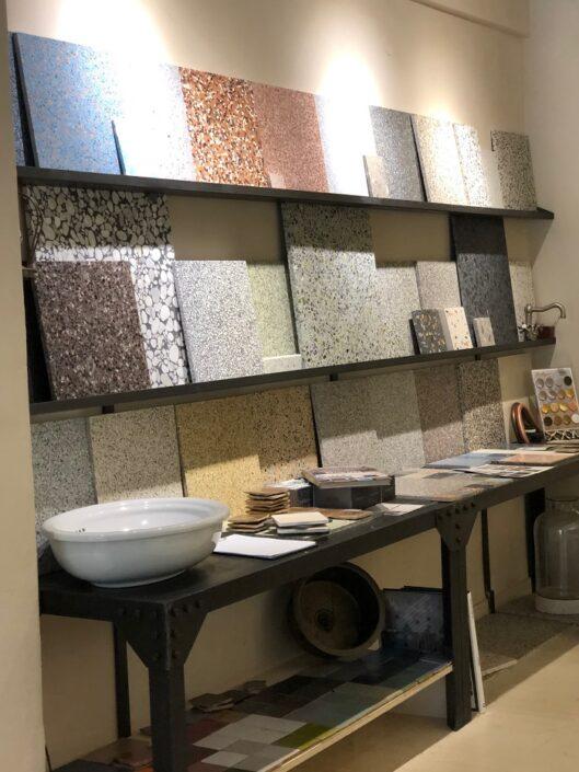 mosaika plakakia_Damask showroom 2020
