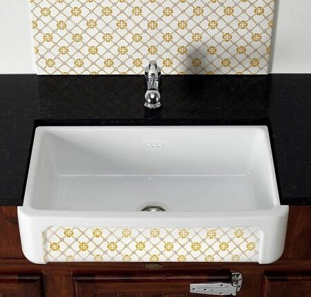 fireclay sinks_Country_Damask_14sml