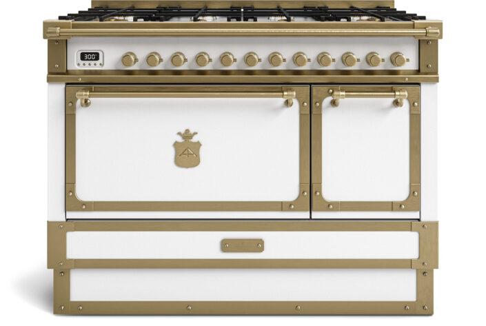 metal handmade kitchen_antic white_120cm_TYPE B_Damask