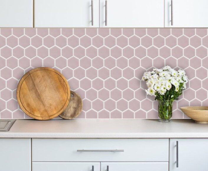 hexagon porcelain mosaics_Damask_EX_D_pink_fp
