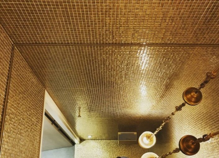 porcelain mosaics with metal coating_Damask_fp